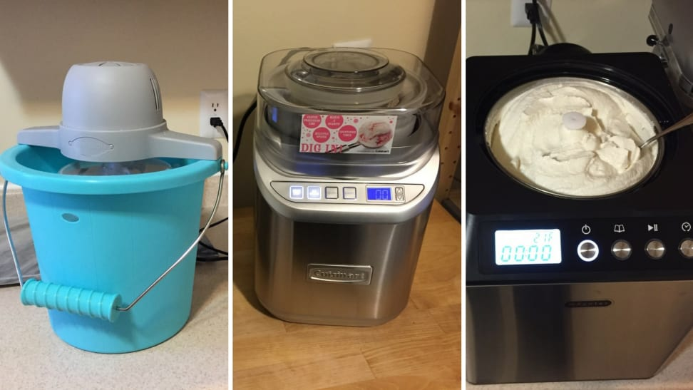 ice cream maker types