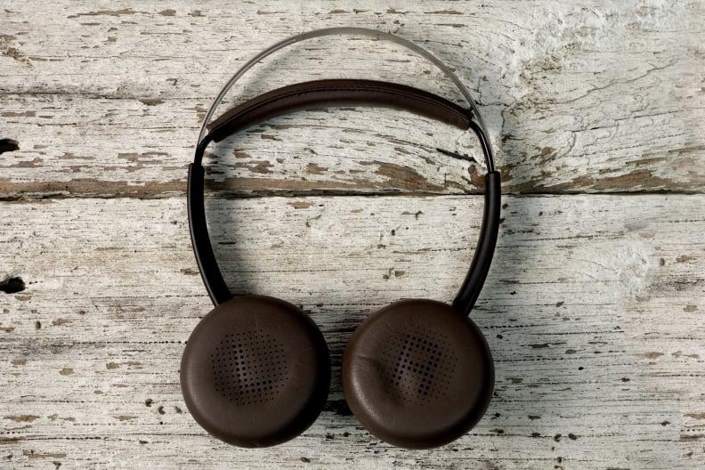 Plantronics Backbeat Sense On Wood