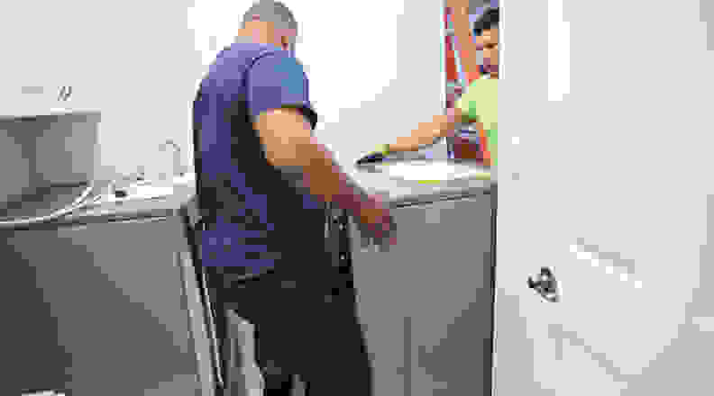 Appliance haul away