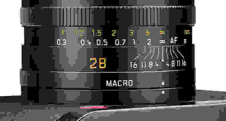Leica Q Lens Scale