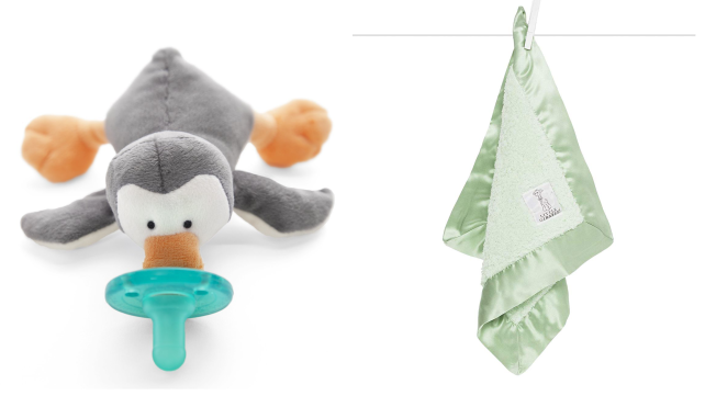 Pacifier and blanket