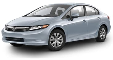 Product Image - 2012 Honda Civic Sedan LX
