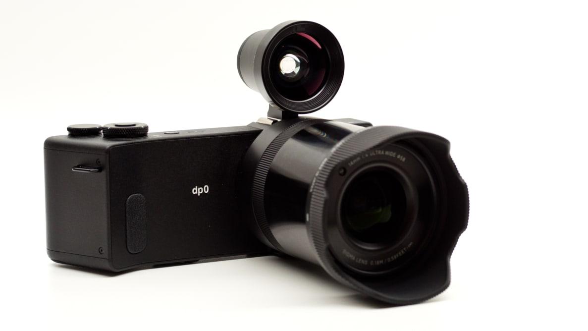 Sigma's dp0 Quattro camera has a 14mm lens and a stacked Foveon Quattro sensor.