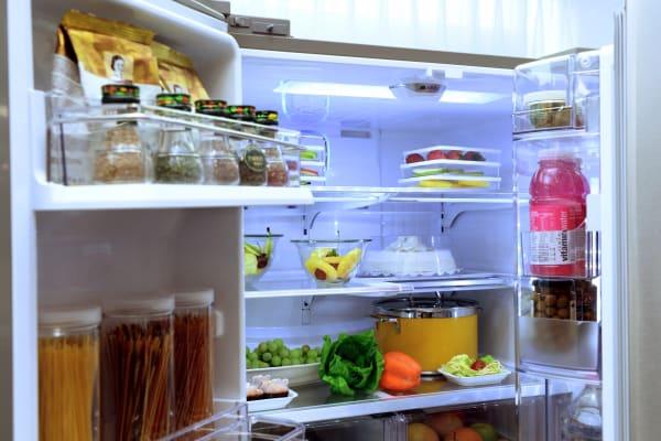 The interior of the new LG Smart Refrigerator