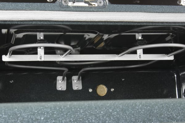 The upper oven's broiler
