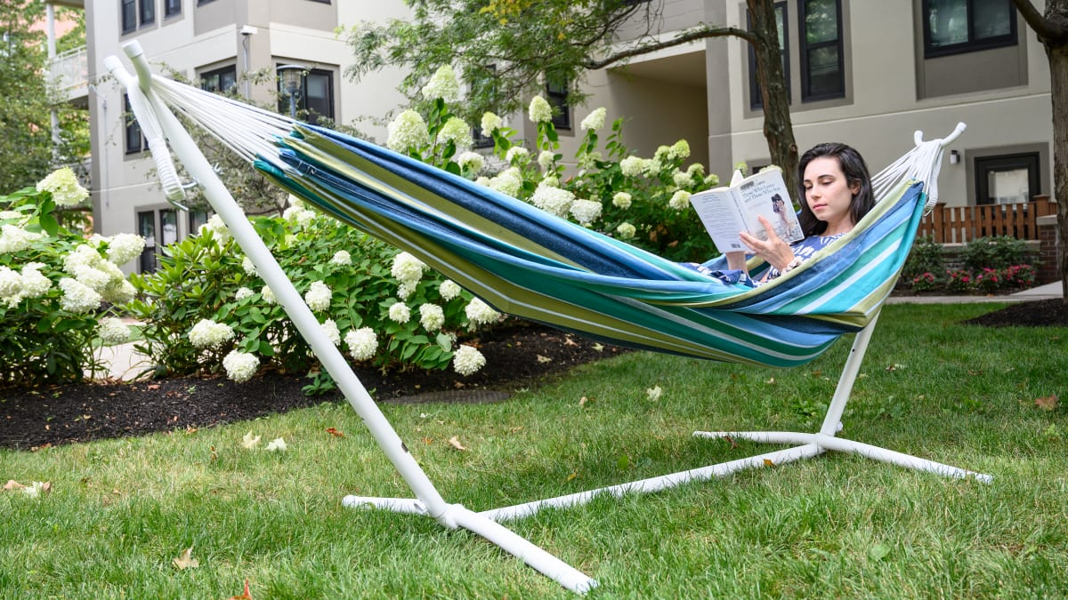 This hammock has a cult following on Amazon—and it's actually worth the hype