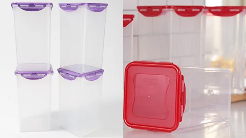 A four-piece container set.