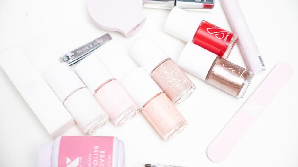 I tried the nail polish brand that's all over the internet