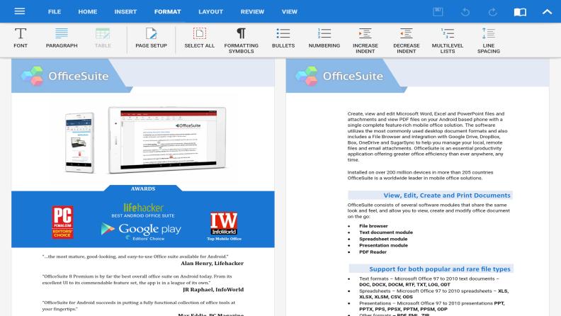 MobiSystems OfficeSuite Chrome App