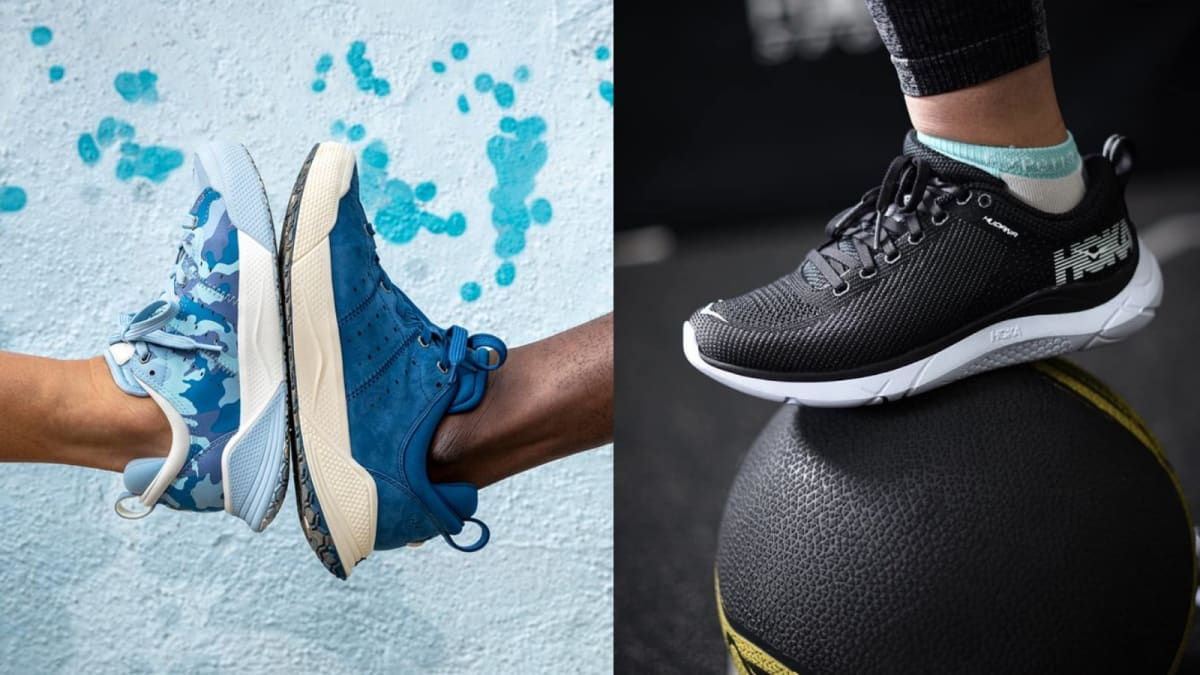 10 of the comfiest walking shoes for people with flat feet