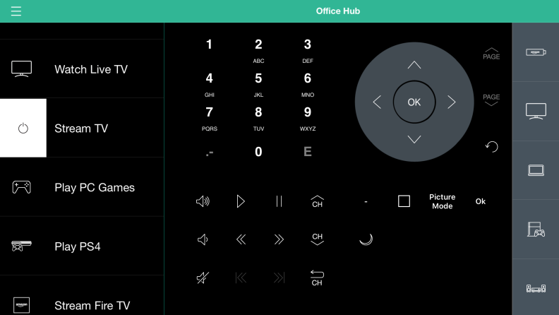 Harmony app remote controls
