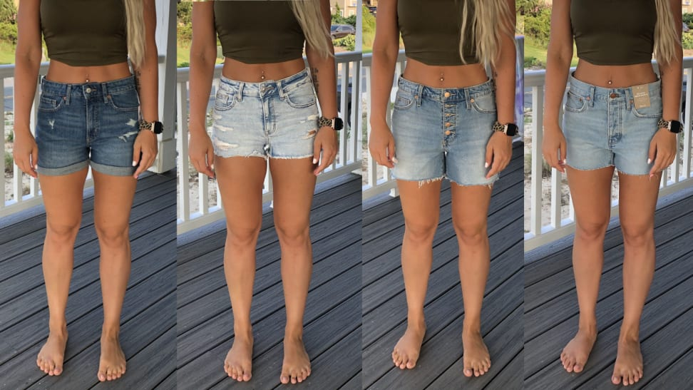 I tried the same size shorts at 5 different brands