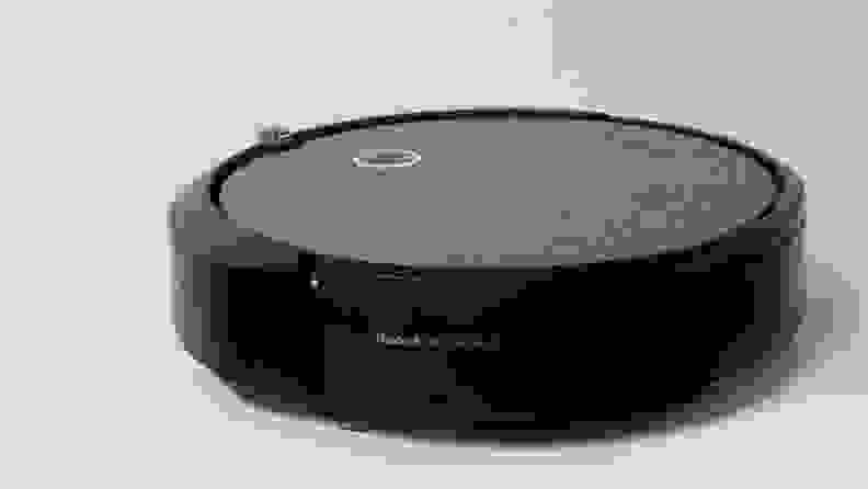 The iRobot Roomba i3+ on a table.