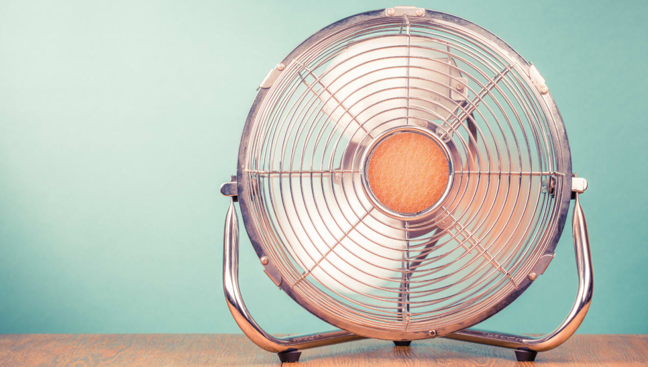 Your fan could actually be making your home hotter