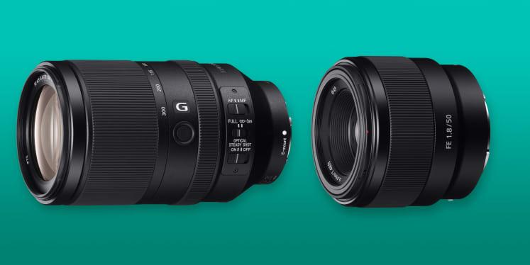 Sony Reveals Full-Frame 50mm f/1.8 and Long Zoom Lenses (SEL70300G ...