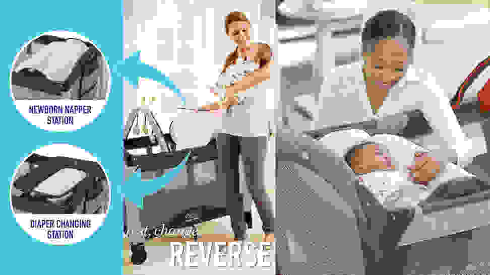 Reversible napper changer
