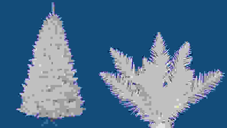 9. Vickerman Sparkle White Spruce Tree