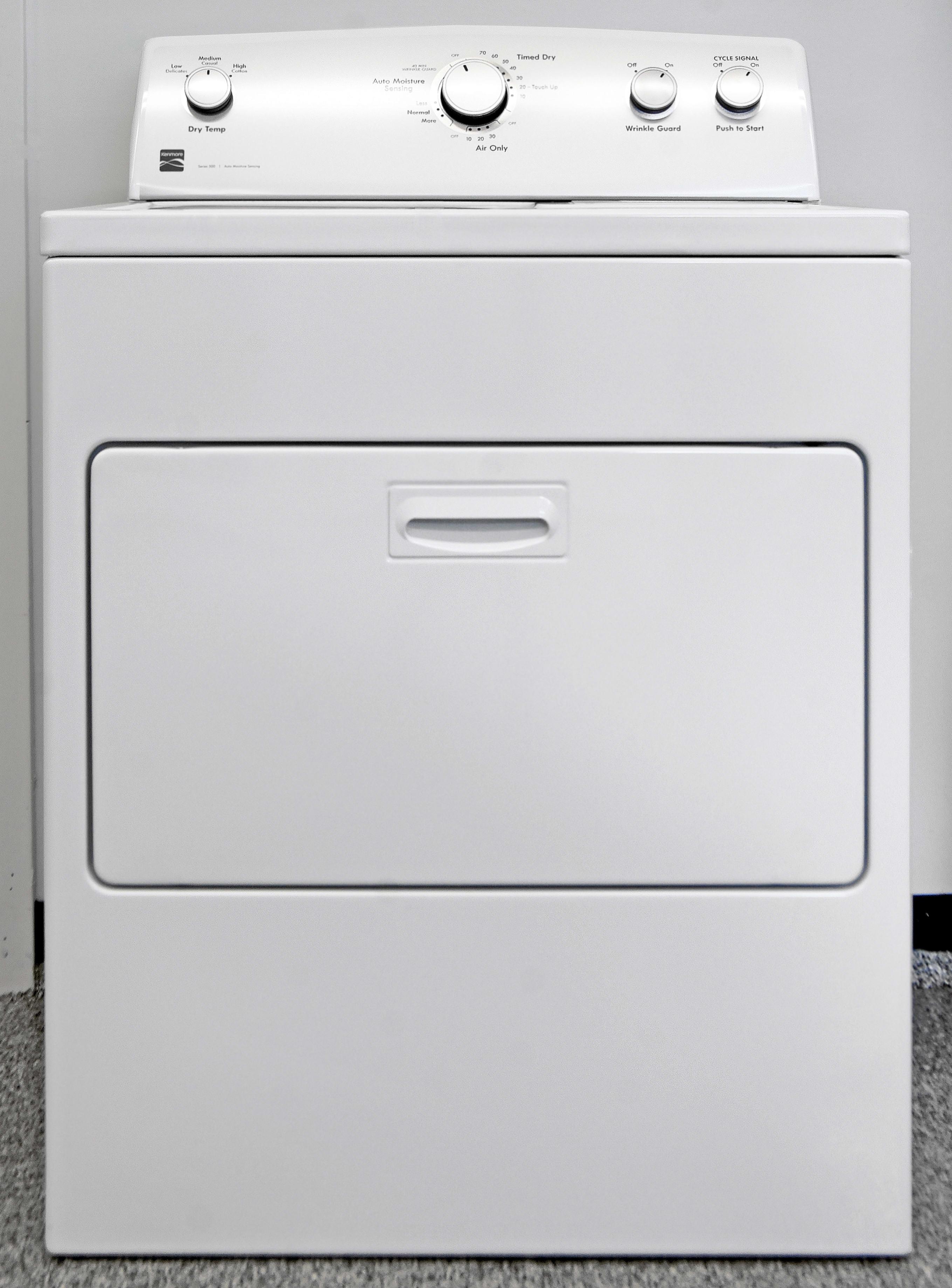 The basic Kenmore 65132 hamper dryer keeps laundry simple.