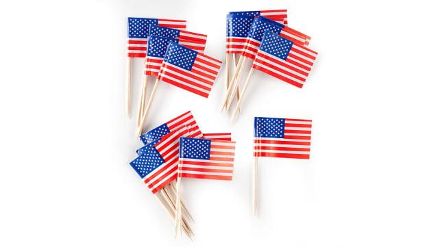 Creative Converting American Flag Picks