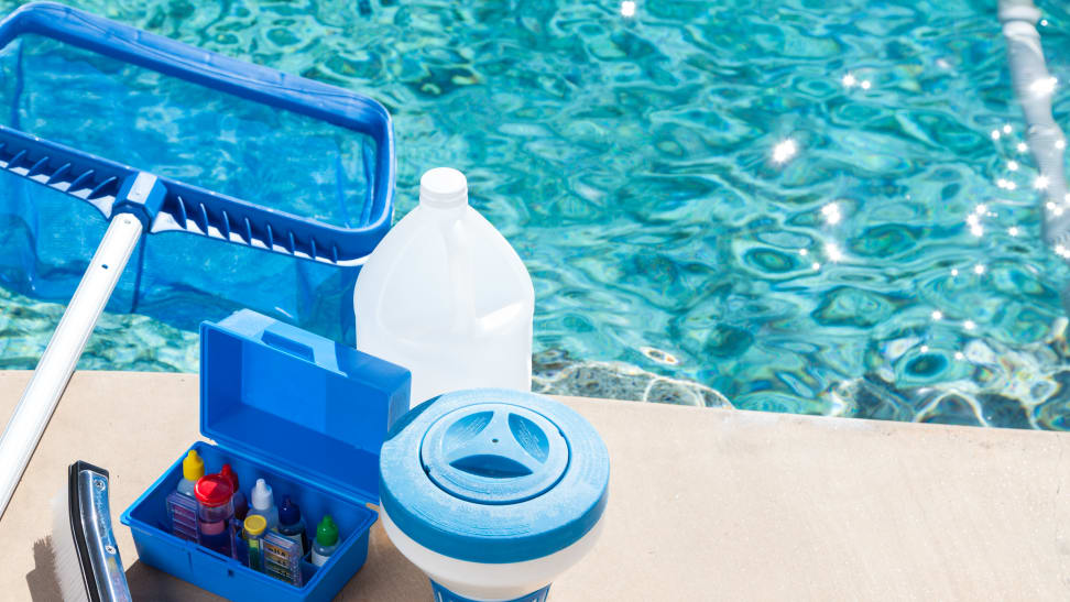 A clean pool will help keep your family healthy