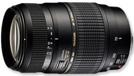 Product Image - Tamron 70-300mm f/4-5.6 Di