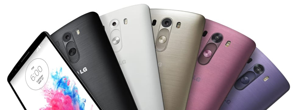LG's new G3 smartphone uses frickin' lasers to focus.
