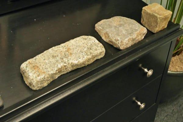 Cuts of stones