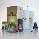 Beer simply beer starter beer brewing kit