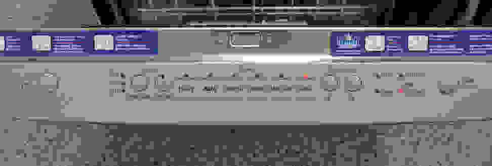 Bosch SHS5AV55UC—Controls