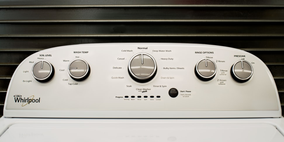 Whirlpool WTW5000DW Washing Machine Review - Reviewed Laundry
