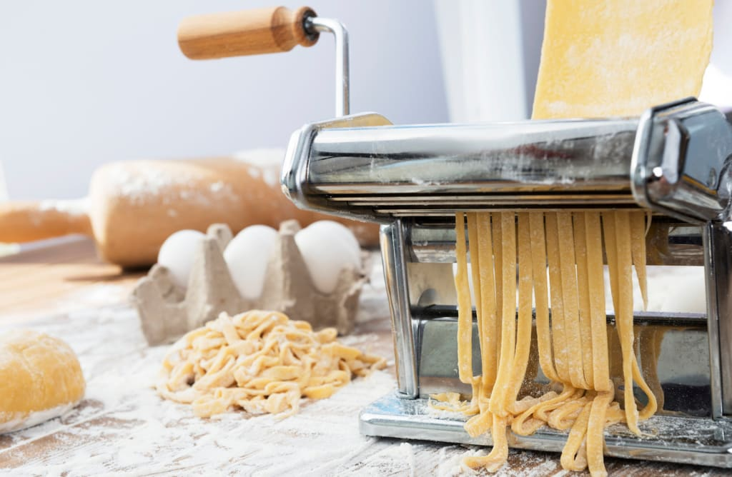 Make homemade pasta with the best pasta makers