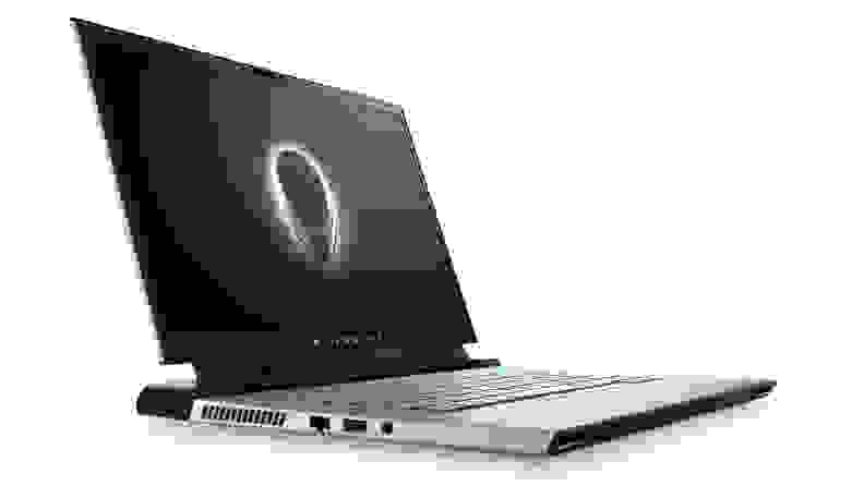 The alienware m15 from the side