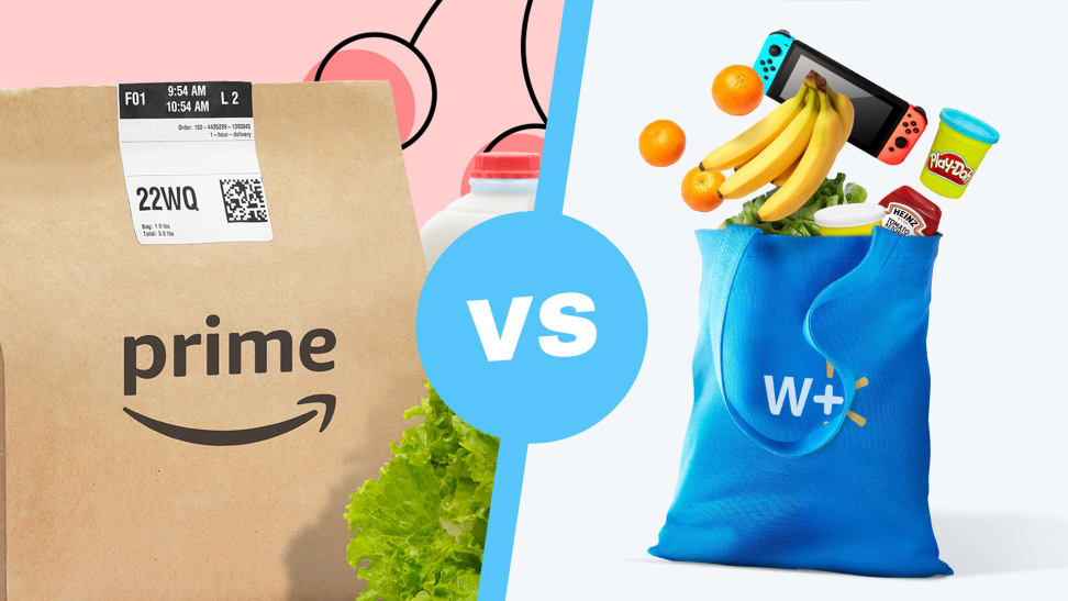 Amazon Fresh vs Walmart Plus