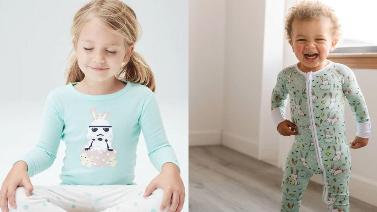 15 adorable Easter pajamas for babies and kids