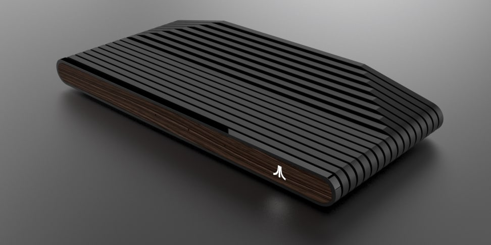 The Ataribox hasn't forgotten its wood-paneled roots.