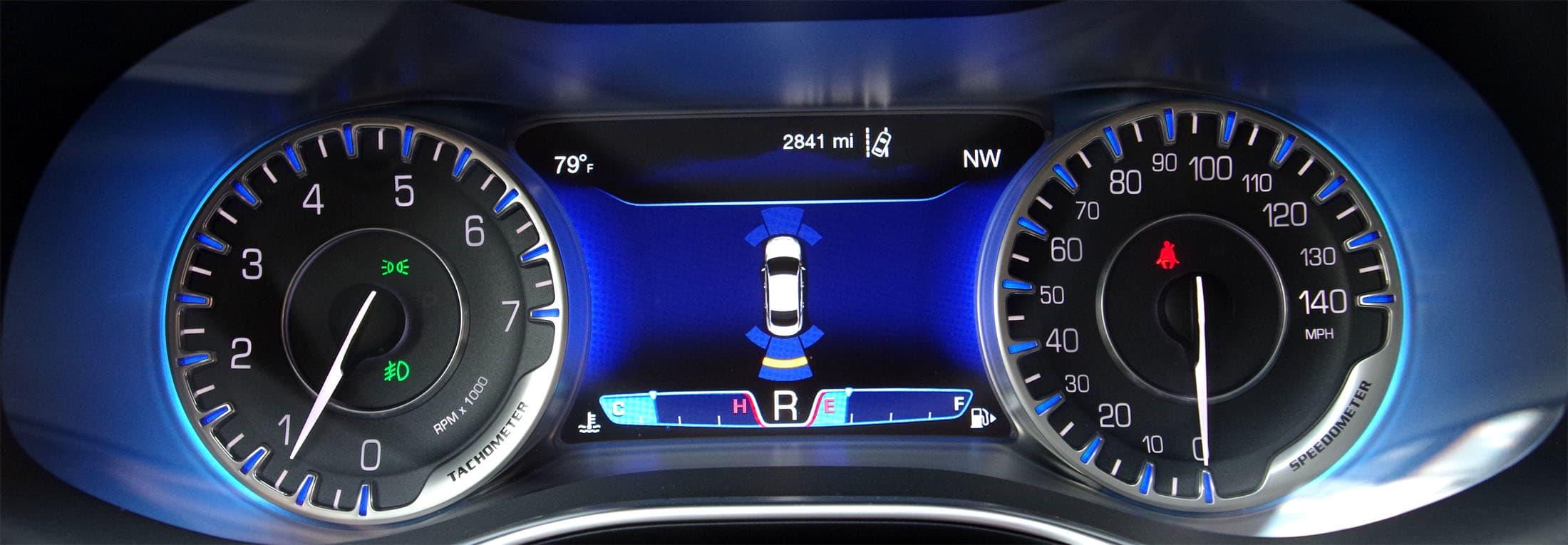 Chrysler 200 park sensors
