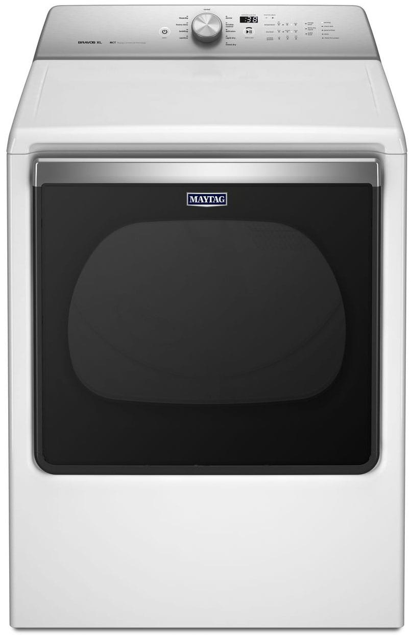 The Maytag Bravos MGDB835DW isn't just impressive at drying—at 8.8-cu.-ft., it's also impressively large.