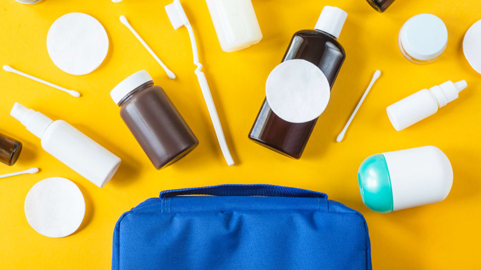 How to pack your toiletry bag