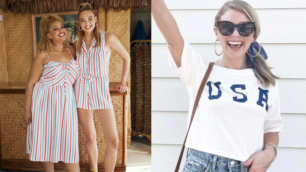 11 Fourth of July outfits that are patriotic without being cheesy