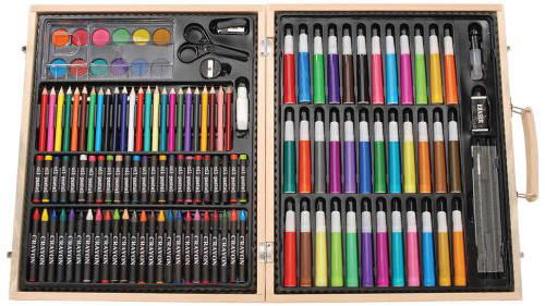 Darice 131-piece art set