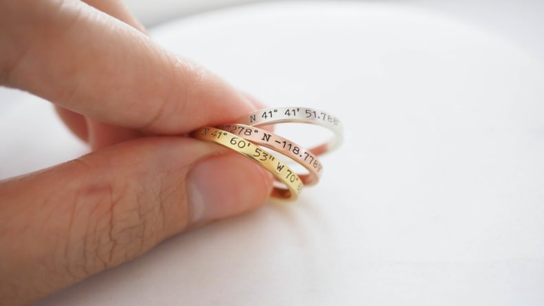 Custom Coordinates Rings