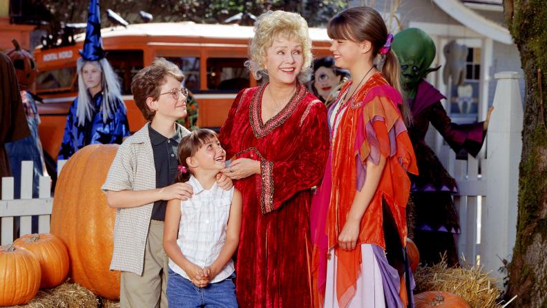 Debbie Reynolds charms as Grandma Aggie in 'Halloweentown.'