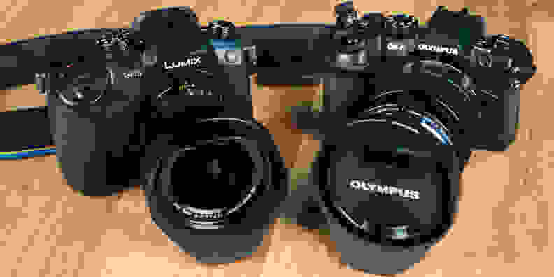 Panasonic Lumix GH5 vs Olympus OM-D E-M1 Mark II