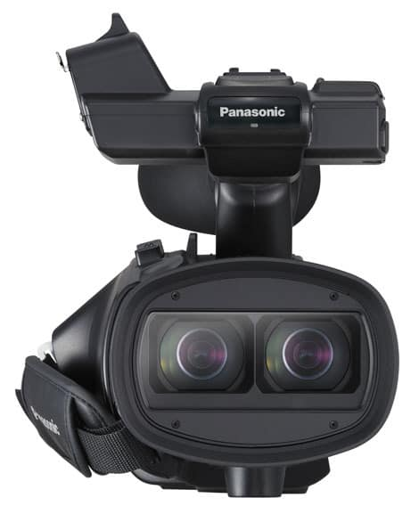 Panasonic Announces Professional 3D Camcorder - Reviewed
