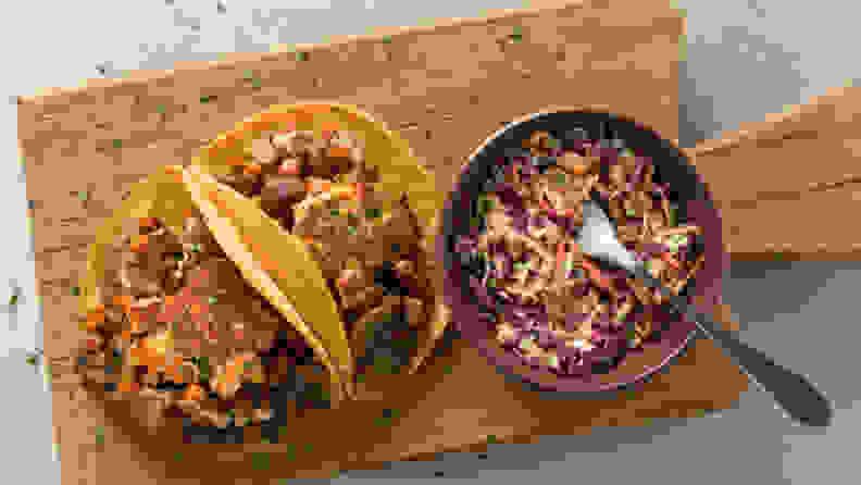 Green Chef tacos