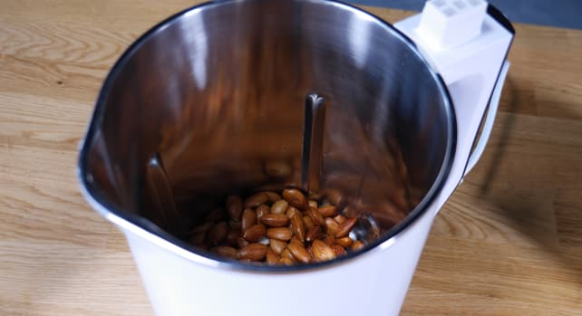 Almonds in Midea NRG Milk Extractor