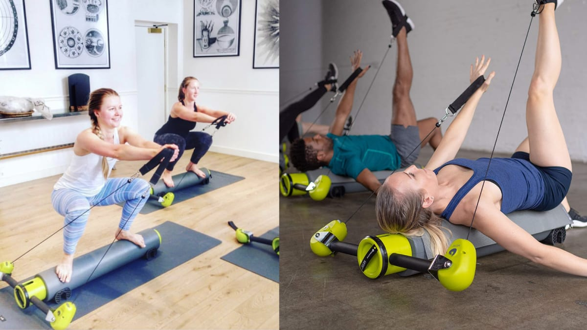 This Pilates reformer makes working out at home way more fun
