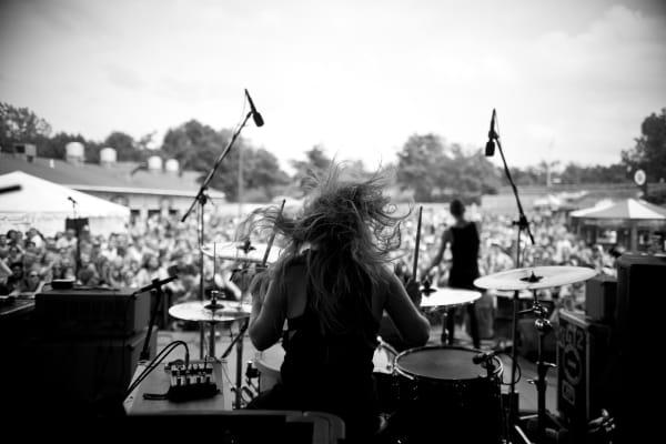 Dangerkids live at Vans Warped Tour.