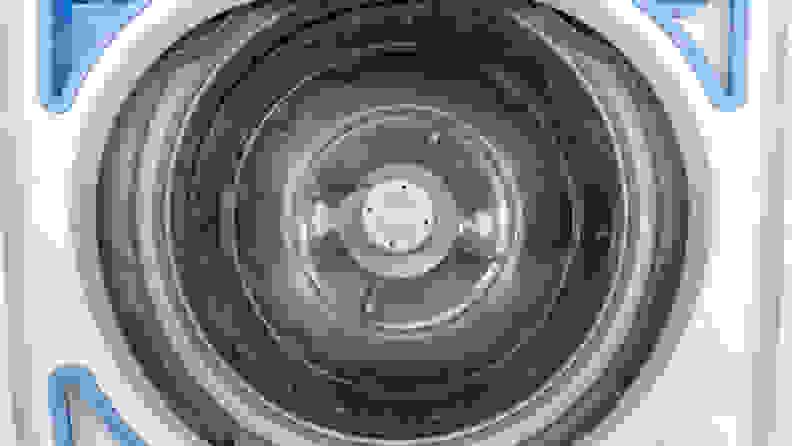 Frigidaire FFTW4120SW washing machine review — drum