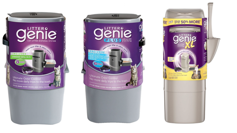 Different Sized Litter Genie Product Shots